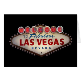 Personalize your Own Las Vegas Card