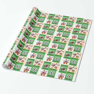 Personalize your Sport! Wrapping Paper