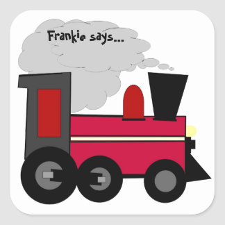 Personalize Your Train Sticker