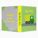 Personalize your Truck Binder