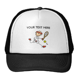 Personalize Yourself Men's Tennis Cap/Hat Trucker Hat