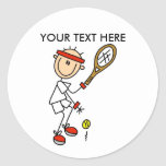 Personalize Yourself Men's Tennis Stickers