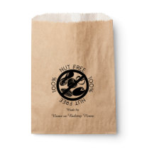 Personalized 100% Nut Free Bakery Peanut Tree Nut Favor Bag
