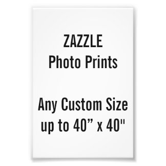 Personalized 100x150mm Photo Print, or custom size