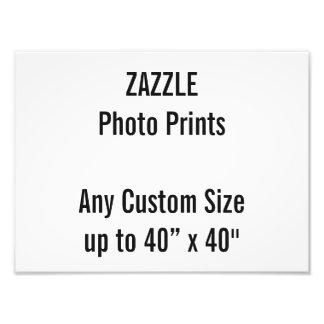 "Personalized 12"" x 9"" Photo Print, or custom size"