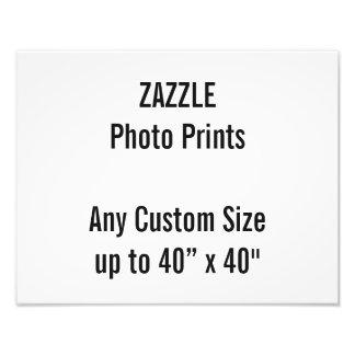 "Personalized 14"" x 11"" Photo Print, or custom size"