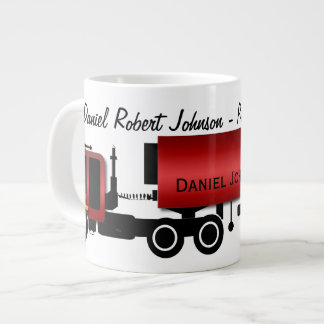 Personalized 18-wheeler Professional Driver Mugs