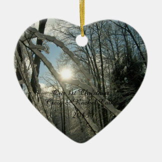 Personalized 1st Christmas Ornament