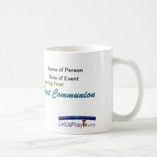 Personalized 1st Communion Mug