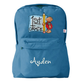 Personalized 1st Grade/American Apparel™ Backpack