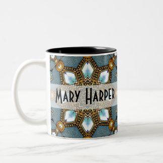 Personalized 2012 Kaleidoscope Calendar Gift Mug