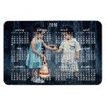 Personalized 2016 Magnetic Calendar 4x6 Rectangular Photo Magnet