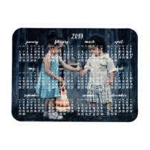 Personalized 2019 Magnetic Calendar 3x4 Magnet