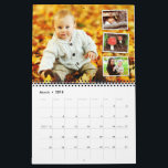 "Personalized 2019 photo calendar custom holiday<br><div class=""desc"">Personalized 2019 photo calendar custom holiday yearly calendar - Christmas Gift .Feature your favorite photos with this calendar. A clean design which allows you to add more relevant photos plus more on the back cover. Fully customized text. Great for any type of calendar - family, wedding, holiday, business and more....</div>"