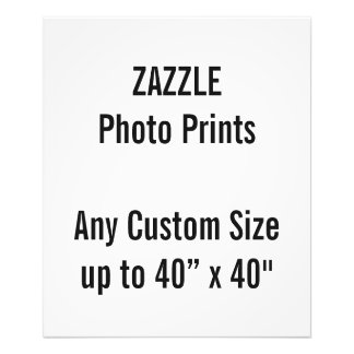 "Personalized 20"" x 24"" Photo Print, or custom size"