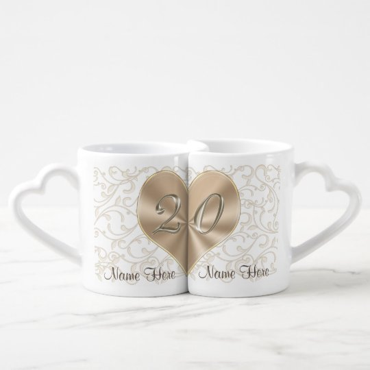 20 Years Wedding Anniversary Gift: Personalized 20 Year Anniversary Gifts For Couples Coffee