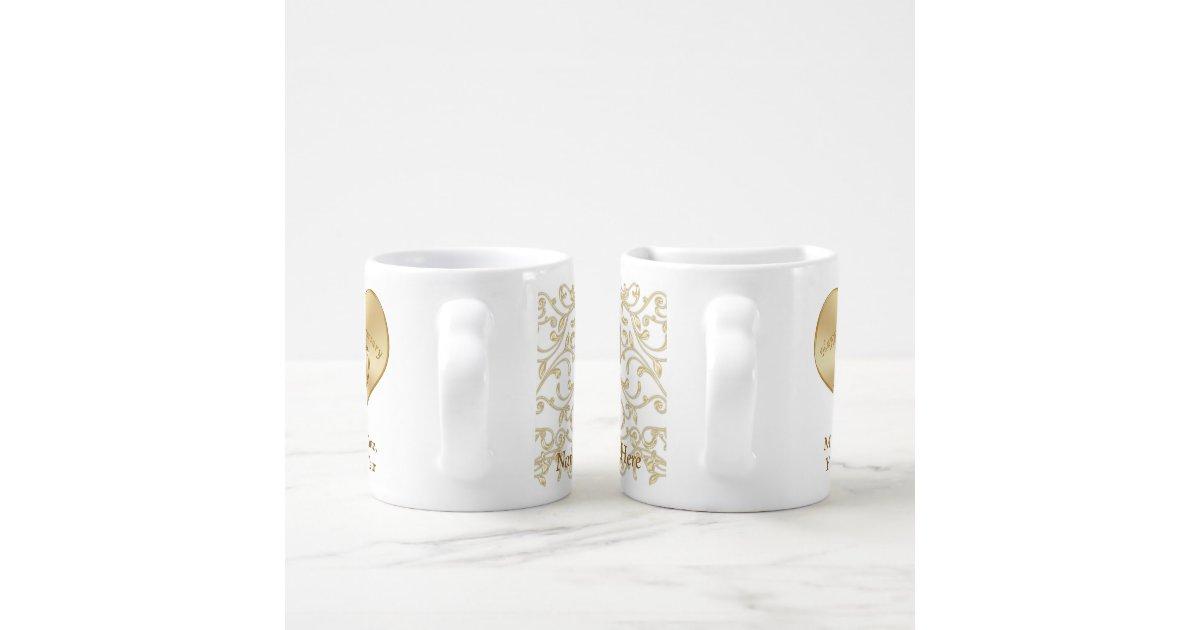 Wedding Anniversary 20 Years Gift: Personalized 20 Year Wedding Anniversary Gift Mugs