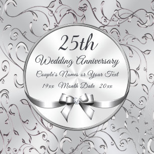 efaf4825048 Personalized 25 Year Anniversary Gift