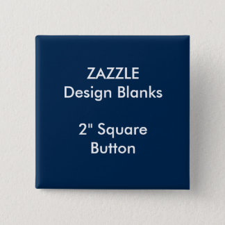 """Personalized 2"""" Square Button Pin Blank Template"""