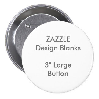 "Personalized 3"" Large Round Button Template"