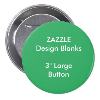 """Personalized 3"""" Large Round Button Template"""