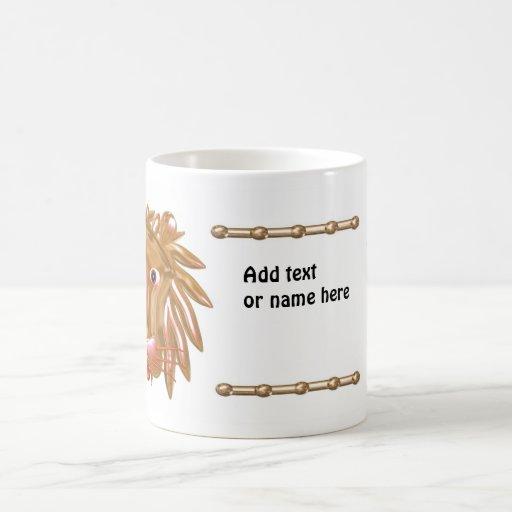 Personalized 3 Lion mug by Valxart.com