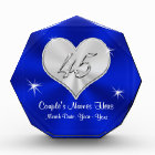 Personalized 45th Wedding Anniversary Gifts