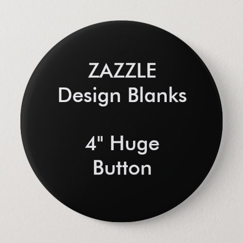 Personalized 4 Huge Round Button Template