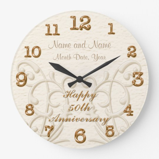 Personalised 50th Wedding Anniversary Gifts: Personalized 50th Anniversary Gifts For Parents Large