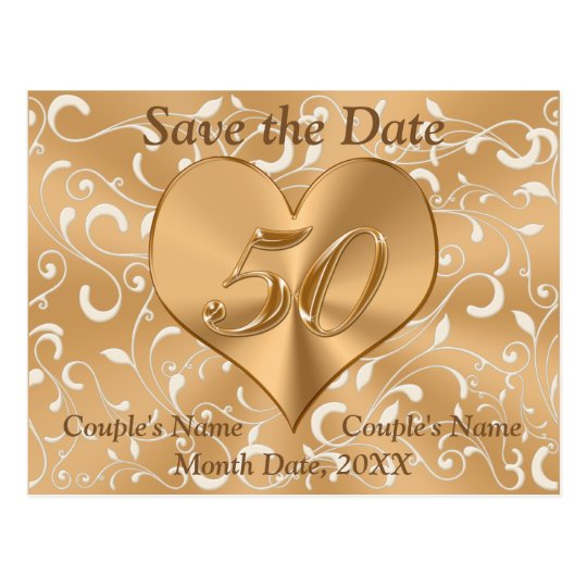 save the date anniversary cards