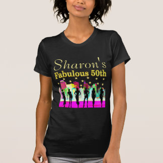 PERSONALIZED 50TH BIRTHDAY NYC DIVA T SHIRT
