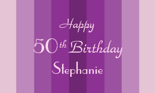 50th birthday banners signs zazzle
