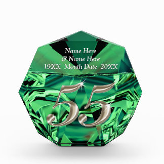 Emerald Wedding Anniversary Gifts on Zazzle