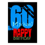 Personalized 60th Birthday Greeting Card
