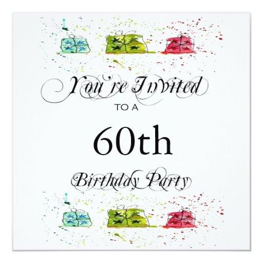 60Th Invitation is beautiful invitation ideas