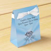 Personalized 60th Wedding Anniversary Favors Boxes