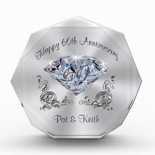 Special Gift For Wedding Anniversary: Personalized 60th Wedding Anniversary Gift Ideas