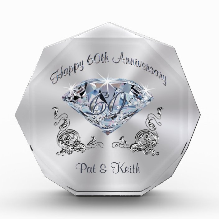 Personalized 60th Wedding Anniversary Gift Ideas Zazzle Com