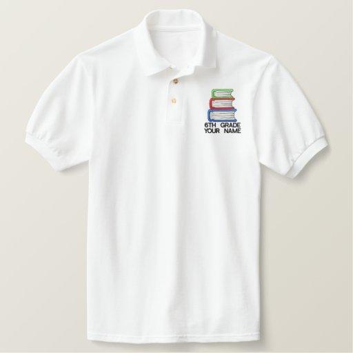 Personalized 6th Grade Teacher Shirt