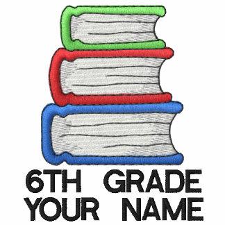 Personalized 6th Grade Teacher Shirt Polo