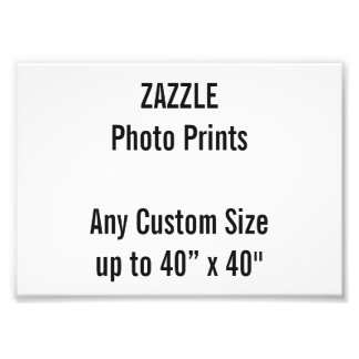"Personalized 7"" x 5"" Photo Print, or custom size"