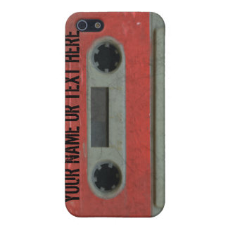Personalized 80's Cassette Tape iPhone4 Case For iPhone SE/5/5s