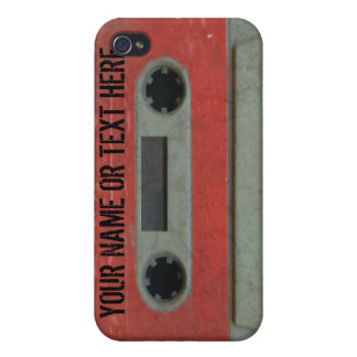 Personalized 80's Cassette Tape iPhone4 iPhone 4/4S Cases