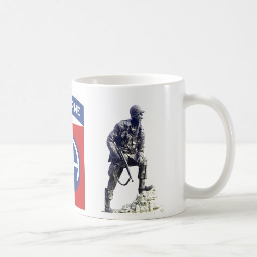 Personalized 82nd Airborne Mug (w/Jump Wings)
