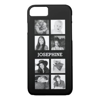 Personalized 8 Instagram Photo Grid iPhone 7 Case