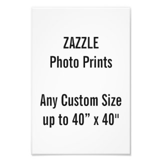 "Personalized 8"" x 12"" Photo Print, or custom size"