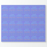 [ Thumbnail: Personalized 98th Birthday Wrapping Paper ]