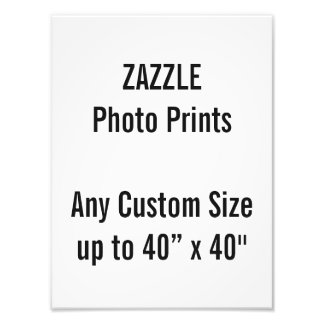 "Personalized 9"" x 12"" Photo Print, or custom size"