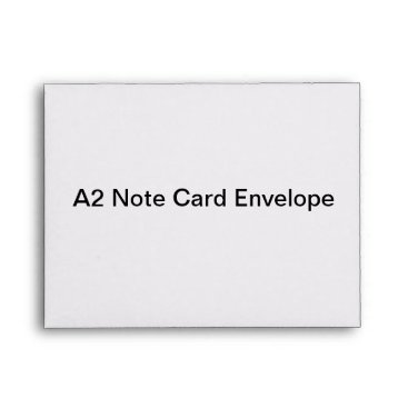 Valentines Themed Personalized A2 Note Card Envelope
