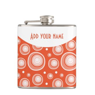 Personalized Abstract Red Polka Dots